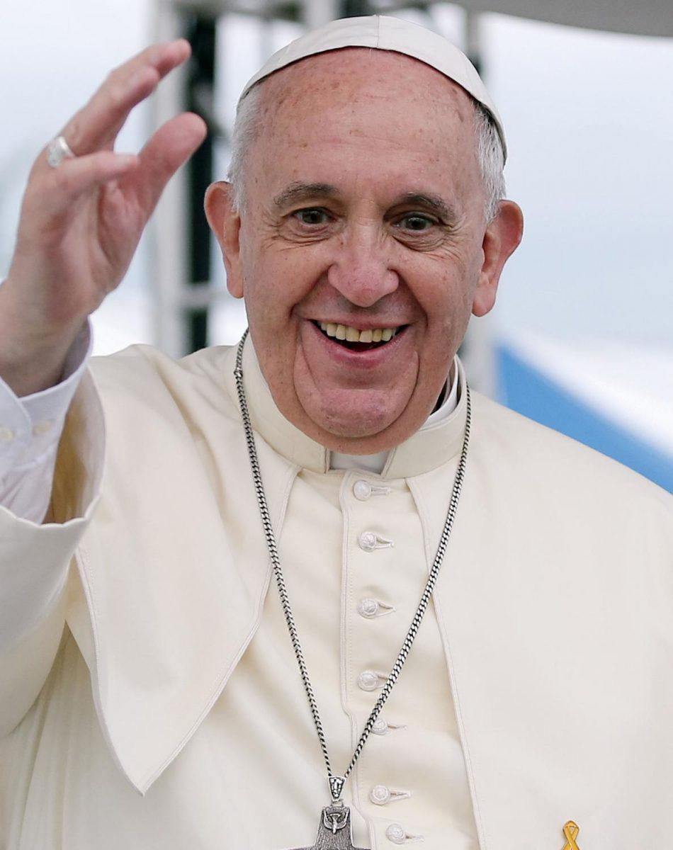 The Pope instills hope