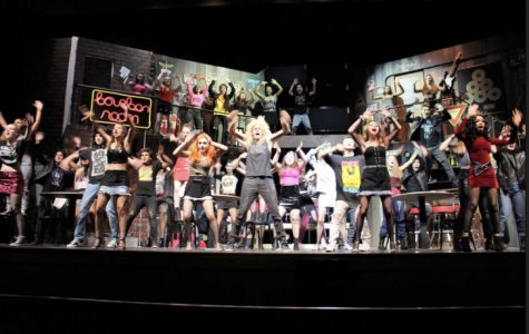 "Rock of Ages ""rocked the theatre"""