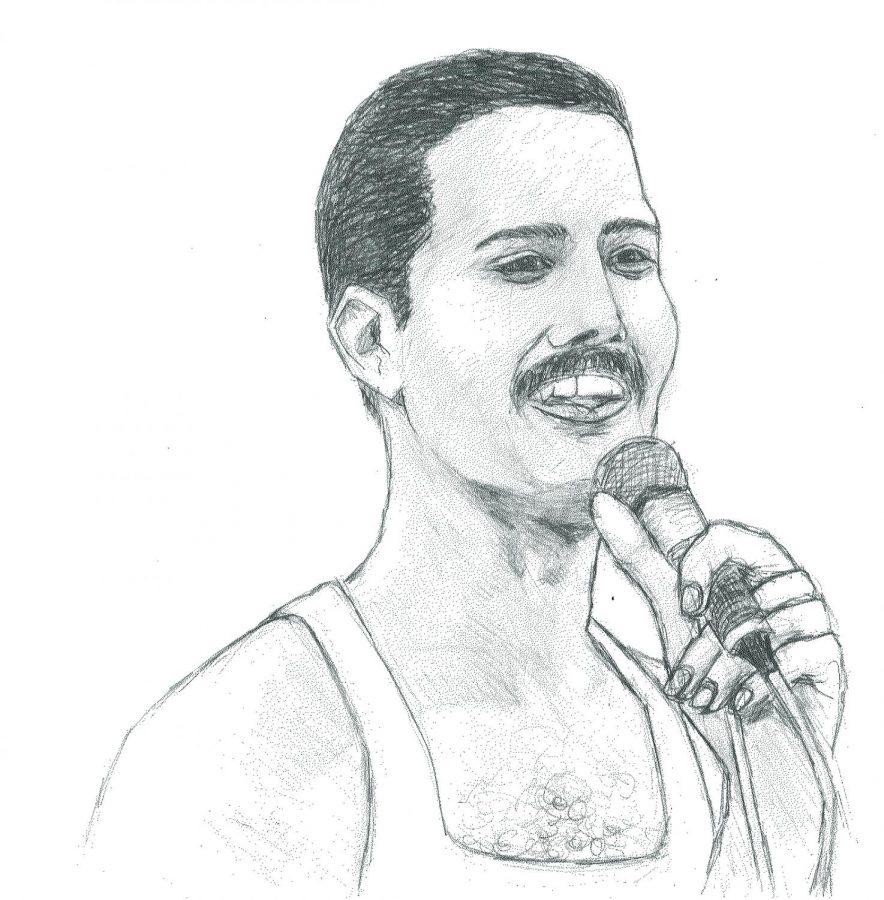 Freddie Mercury will rock you