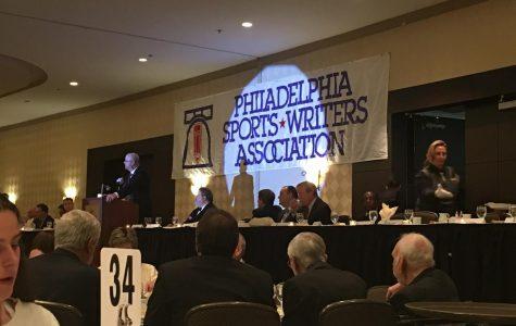 Philadephia Sports Writers Association Awards Ceremony at the Crowne Plaza