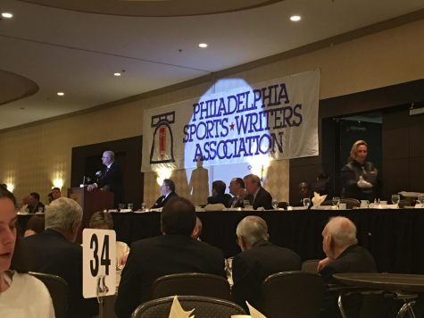 Philadephia Sports Writers Association Awards Ceremony at the Crowne Plaza