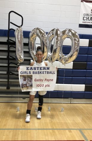 Gabby Payne scores 1,000 points!!
