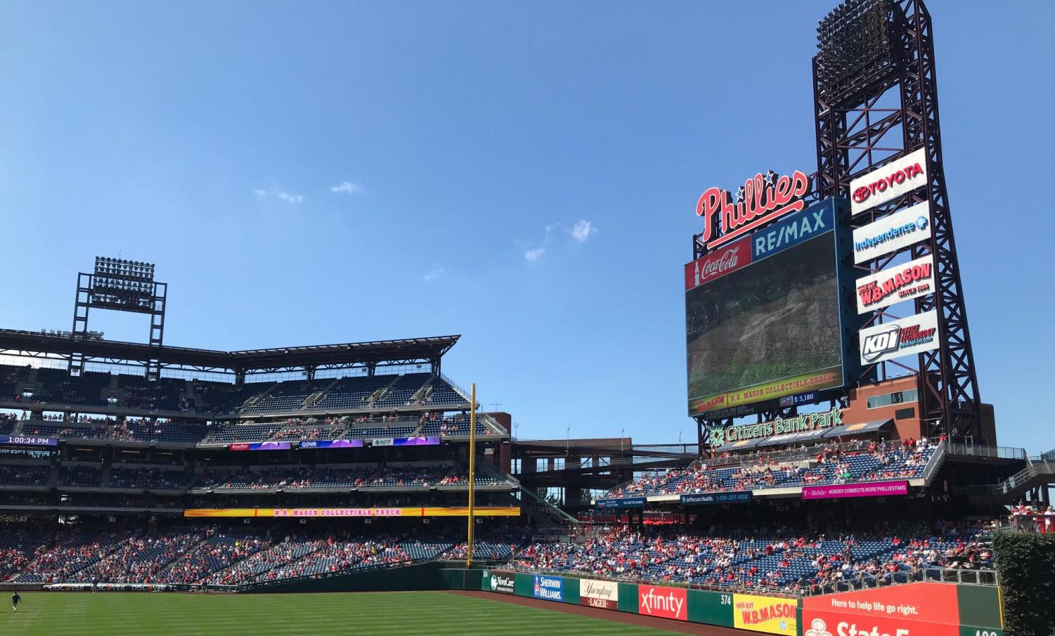 On a blazing-hot September 15th, 2019, the Philadelphia Phillies fall to the Boston Red Sox, 6-3.