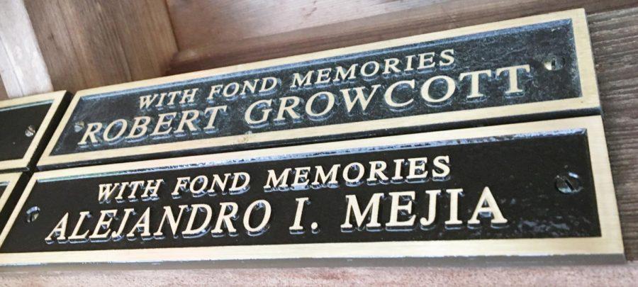 Alejandro Mejia's name is now included in the Memorial Gazebo.