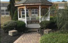 The fresh air lingers more in the gazebo.