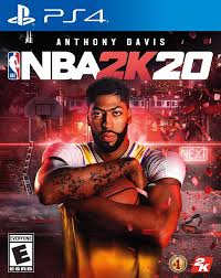 Lakers new star, Anthony Davis, highlights NBA2K20's cover