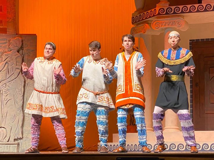 Drama club's fall musical provides comedic relief