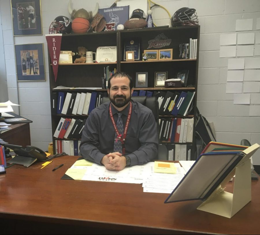 Mr. Steven Picot has been at Eastern for fifteen years, but this year is his first as an administrator.