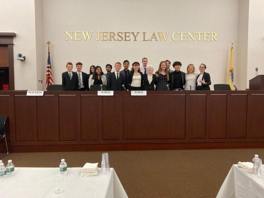 Members of Eastern's Mock Trial.