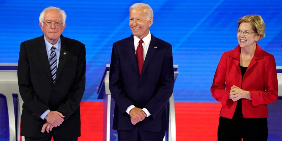2020 Democratic presidential candidates stand together. After Bernie Sanders officially suspended his campaign last week, then publicly announced his support for Biden just a few days later, it was inevitable and predicted that Warren would soon after do the same.