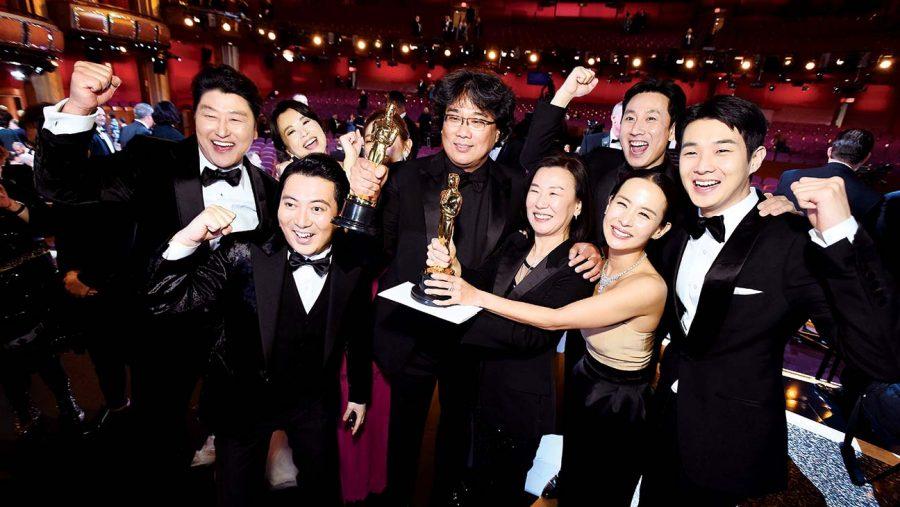 'Parasite' won big at the Oscars, winning multiple awards and many smiles.
