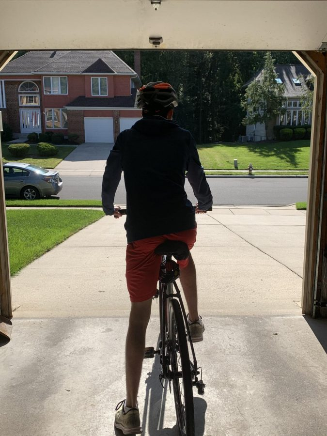 In a race against time, Andrew Shinkle 22 embarks on a journey across his neighborhood.