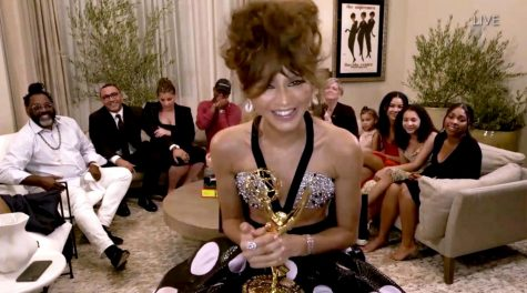 Zendaya, 24, becomes the youngest woman to win the Emmy for Outstanding Actress in a Drama Series, for her role in HBO
