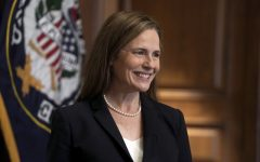 "She was appointed by President Trump to a federal appeals court in 2017, and was confirmed by a vote of 55-43 after a testy Senate Judiciary Committee hearing during which Senator Dianne Feinstein famously remarked ""the dogma lives inside you"" in reference to Barrett's pretty intense Catholic beliefs (due to them, she's pro-life and against the death penalty as well as against LGBTQ rights and same sex marriage)."