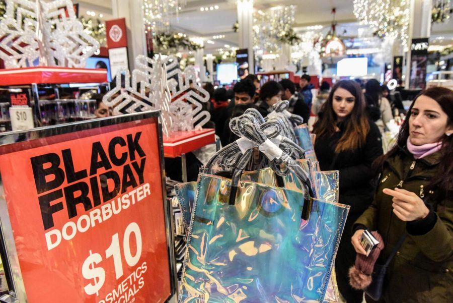 Infamous+Black+Friday+crowds+are+a+thing+of+the+past+as+stores+take+precautions+to+keep+shoppers+safe