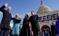 Joe Biden officially gets sworn into office as the 46th President of the United States in front of the Capitol.