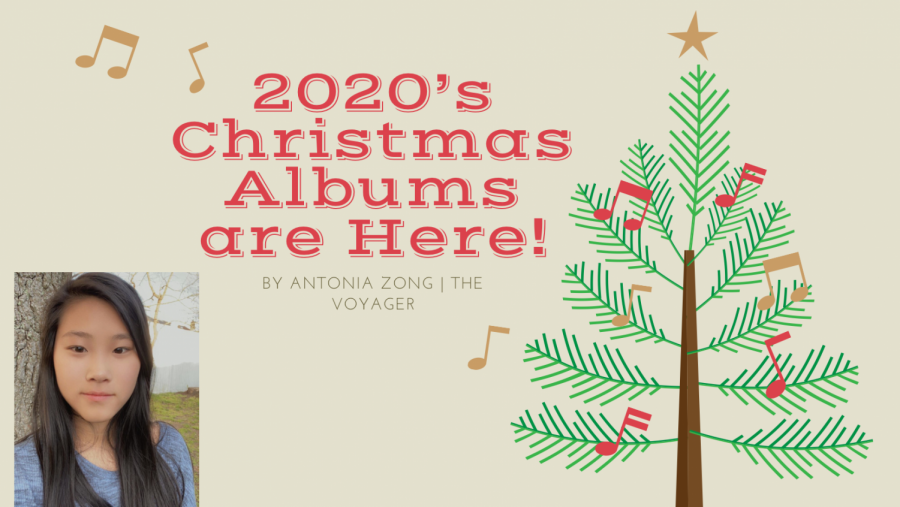 Antonia writes about some holiday album favorites of December 2020 in her newest Pop Music Column.