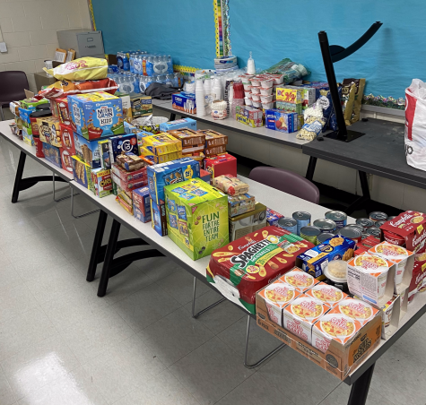 Interact Team 7 received donations from over fifty students and twelve staff members.