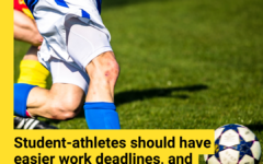 As a result of additional commitments to their health and their school, student athletes deserve extra time to complete assignments.