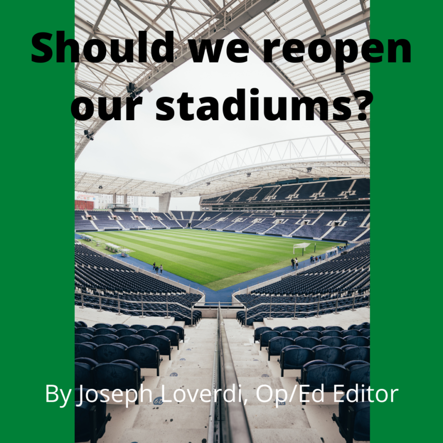 As stadiums begin to reopen, whether partially or fully, the question remains: is it actually safe? Joe Loverdi says no.