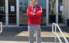 After finishing as the runner-up in his weight class at 2020 Nationals, senior Damian Tinnerello has a bright future ahead of him.