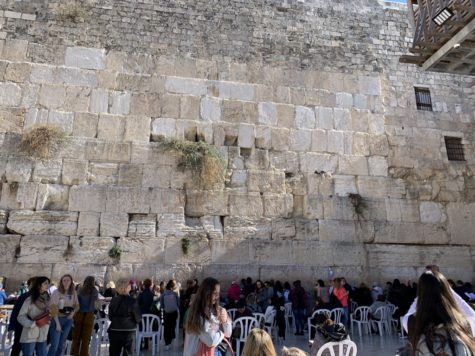 The Western Wall stands as the remains of the walls surrounding Temple Mount, just as the Jews still stand after numerous persecutions.