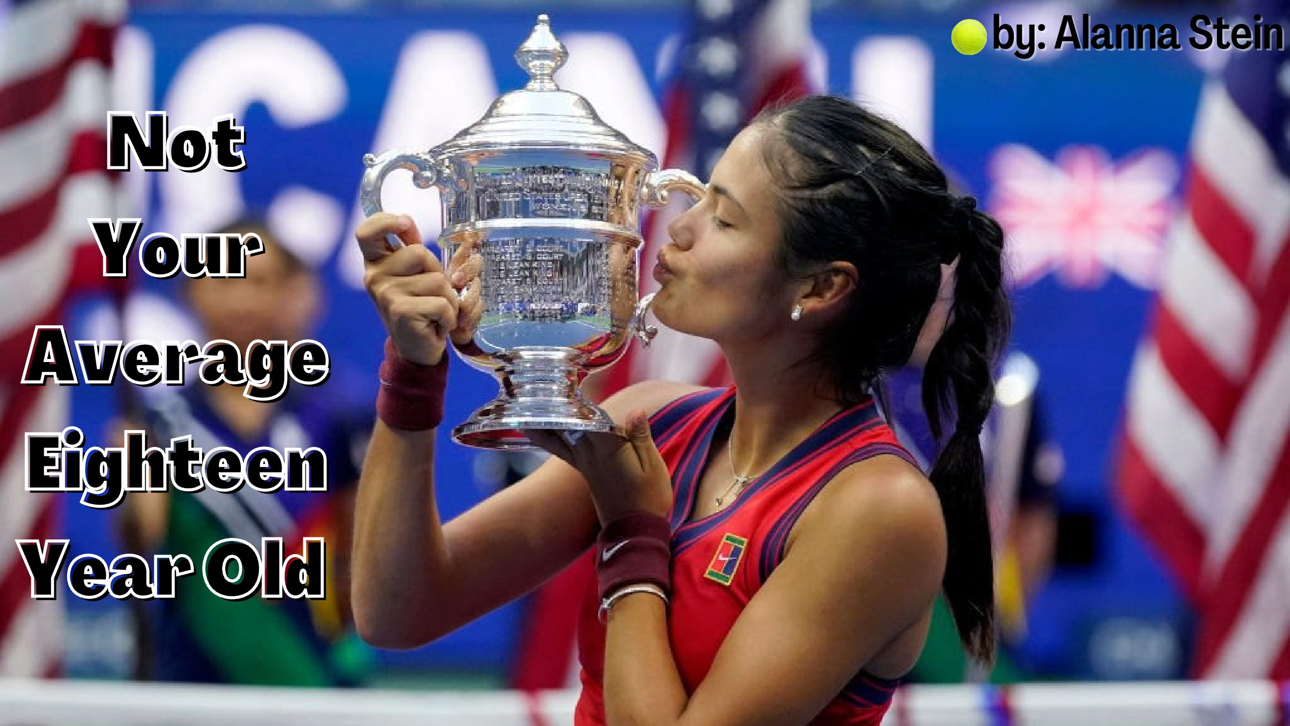 At only eighteen years old, Emma Raducanu is a Grand Slam winner.