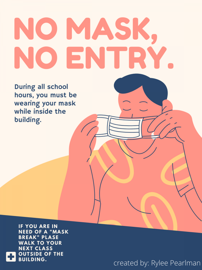 High school is supposed to be filled with making new friends and socializing with new people, but instead we are told to wear masks and stay away from each other.