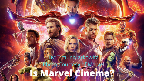 Are all Marvel movies considered to be cinema in its simplest form?